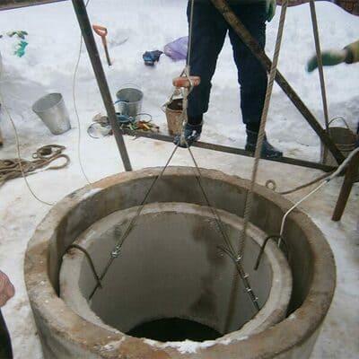 Углубление колодцев в Одинцовском районе