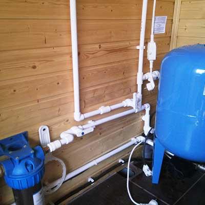 водоснабжение из колодца в Рузе под ключ