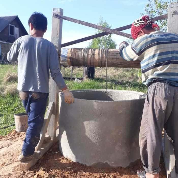 чистка колодцев в волоколамском районе
