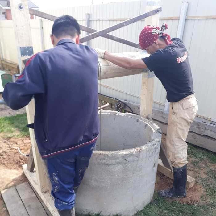 чистка колодцев в Истринском районе